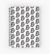 Reinhardt Lion Spray Spiral Notebook