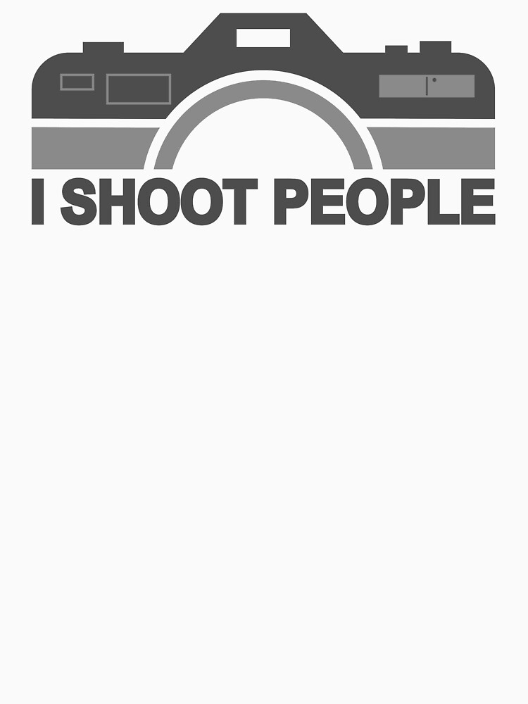 I Shoot People Photography Text by FridayFusion