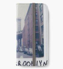Polaroid Photo - DUMBO, Brooklyn - Zackattack iPhone Wallet/Case/Skin