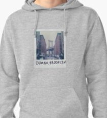 Polaroid Photo - DUMBO, Brooklyn - Zackattack Pullover Hoodie