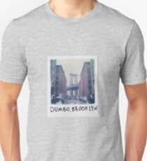 Polaroid Photo - DUMBO, Brooklyn - Zackattack Unisex T-Shirt