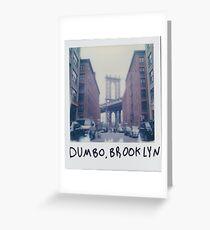 Polaroid Photo - DUMBO, Brooklyn - Zackattack Greeting Card