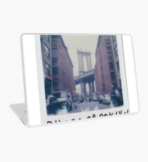 Polaroid Photo - DUMBO, Brooklyn - Zackattack Laptop Skin