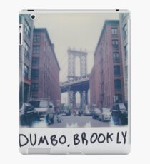 Polaroid Photo - DUMBO, Brooklyn - Zackattack iPad Case/Skin
