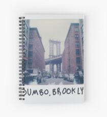 Polaroid Photo - DUMBO, Brooklyn - Zackattack Spiral Notebook