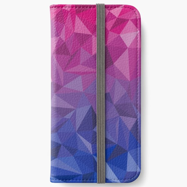 Geometric Bi Pride iPhone Wallet