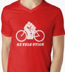 Re velo ution Men's V-Neck T-Shirt