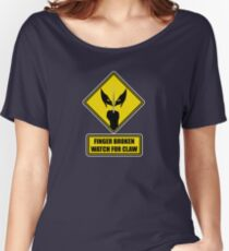 Watch for Claw! Women's Relaxed Fit T-Shirt