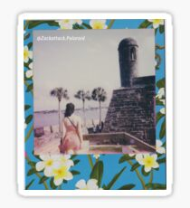 Polaroid Picture - Beautiful St. Augustine Sticker