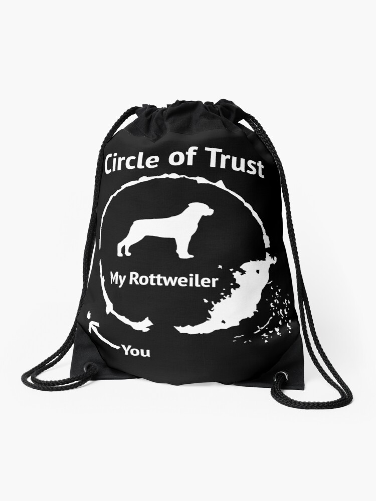 NEW AMAZING GRAPHIC HAND BAG//TOTE BAG Rottweiler Dog Circle