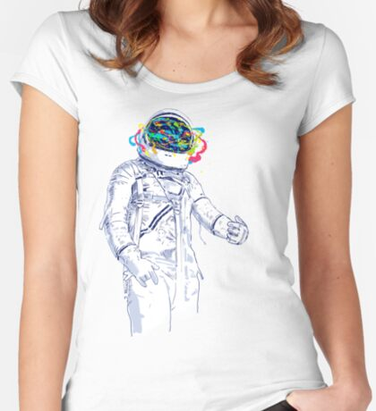 creative space Women's Fitted Scoop T-Shirt