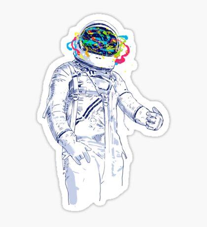 creative space Sticker
