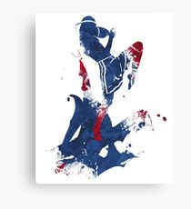 Muay Thai Knee Canvas Print