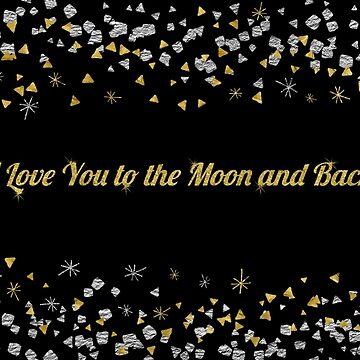 Valentine's Cards: Moon by MADEBYCATHERINE