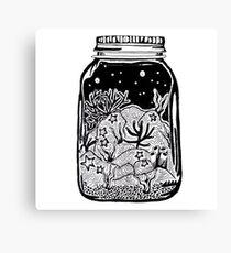 ocean in a jar Canvas Print