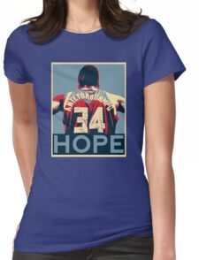 GIANNIS - HOPE Womens Fitted T-Shirt
