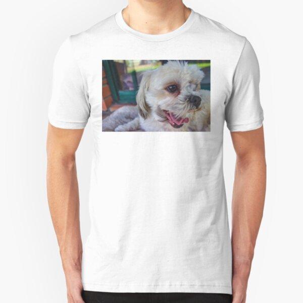 Maltese-shitzu Slim Fit T-Shirt
