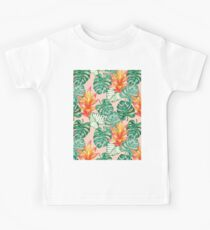 Gentle tropical peach Kids Clothes