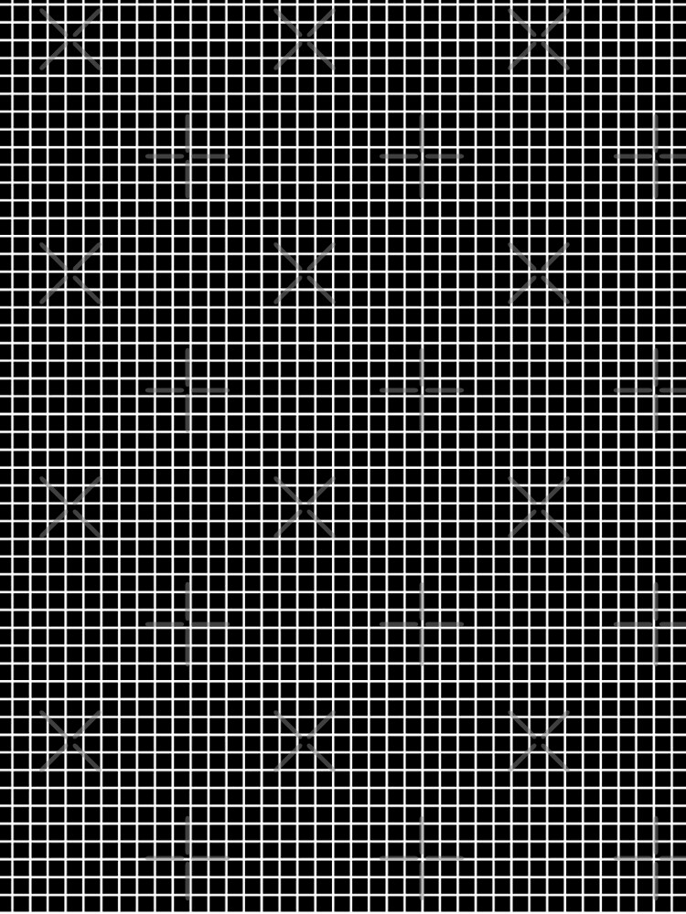 Black and White | Waffle Grid by thepinecones