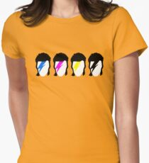 CMYK Stardust Womens Fitted T-Shirt