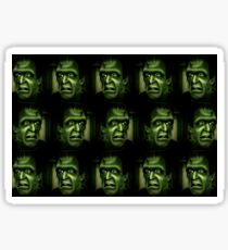 The doctors name was Frankenstein Sticker