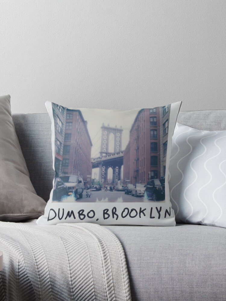 Brooklyn - Throw Pillow by Zack Attack