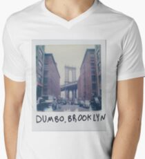 Brooklyn - Throw Pillow Men's V-Neck T-Shirt