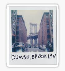 Brooklyn - Throw Pillow Sticker