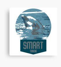smart thinking Canvas Print