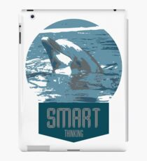 smart thinking iPad Case/Skin