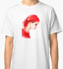 Fashion woman  portrait  Classic T-Shirt