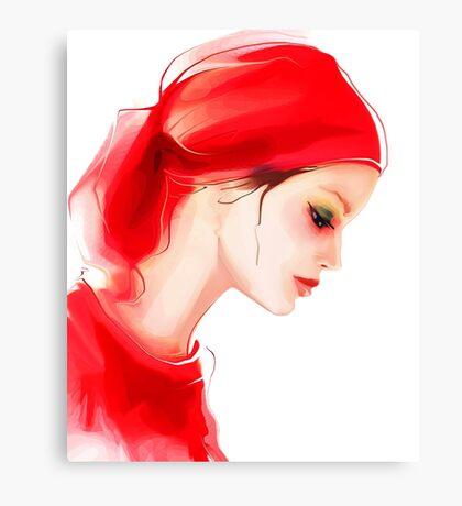 Fashion woman  portrait  Canvas Print