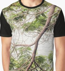 Decorative Branches Graphic T-Shirt