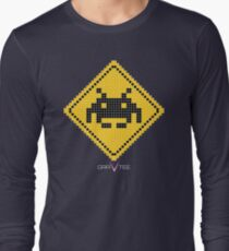 Space Invader Xing Long Sleeve T-Shirt