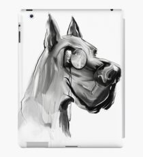very clever dog iPad Case/Skin