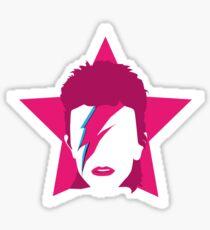 The Pink Starman Sticker