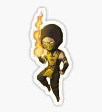 Mortal Kombat • Scorpion Sticker