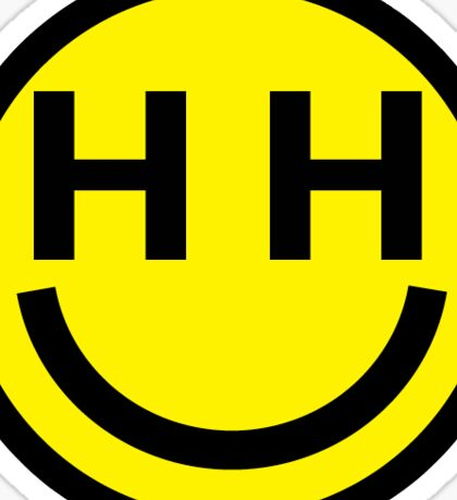 Happy Hippie Sticker