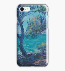 Provence pines iPhone Case/Skin