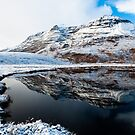 Scottish Mountain Liathach in the Snow by Mark Greenwood