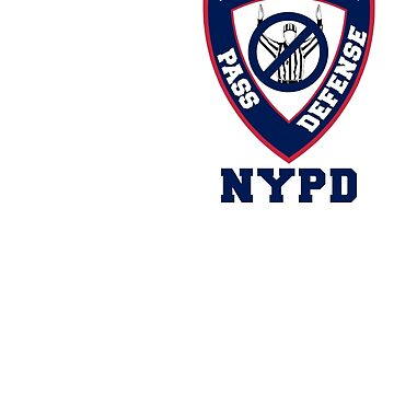 Giants NYPD by BDawg