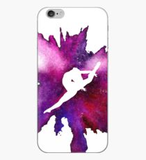 Gymnast Explosion Silhouette Galaxy iPhone-Hülle & Cover