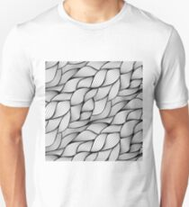 Monochrome sewing Unisex T-Shirt