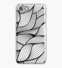 Monochrome sewing iPhone Case/Skin