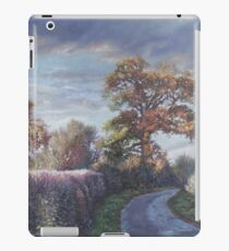 Tree Lined Countryside Road iPad Case/Skin