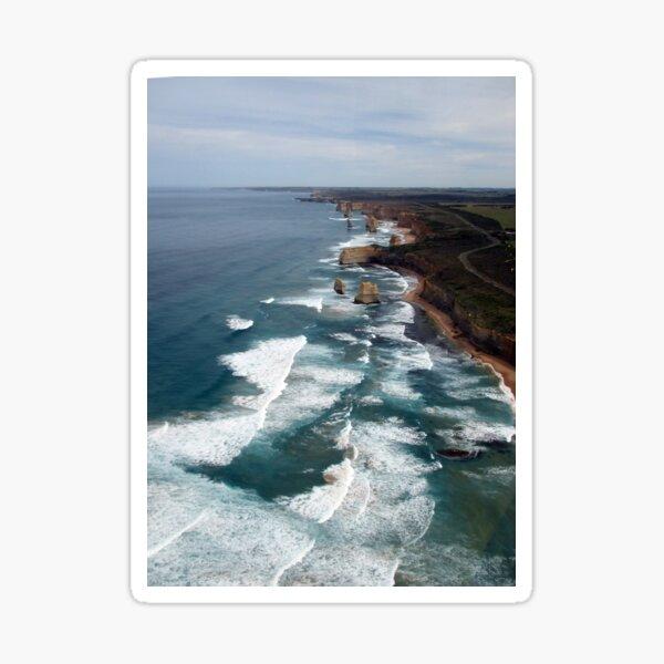 12 Apostles, Great Ocean Road, Australia Sticker