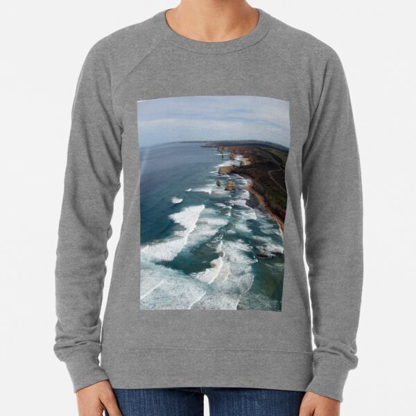 12 Apostles, Great Ocean Road, Australia Lightweight Sweatshirt