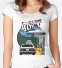 Hakone Toyota AE86 Trueno Women's Fitted Scoop T-Shirt