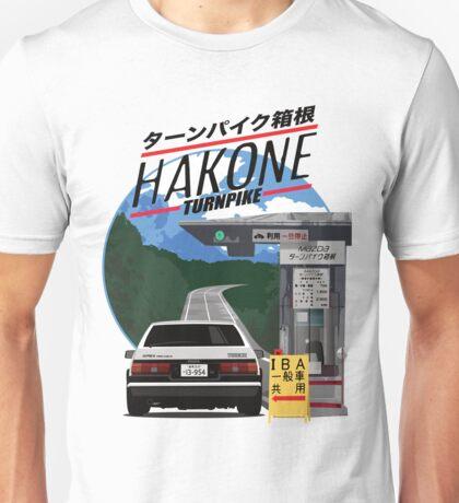 Hakone Toyota AE86 Trueno Unisex T-Shirt