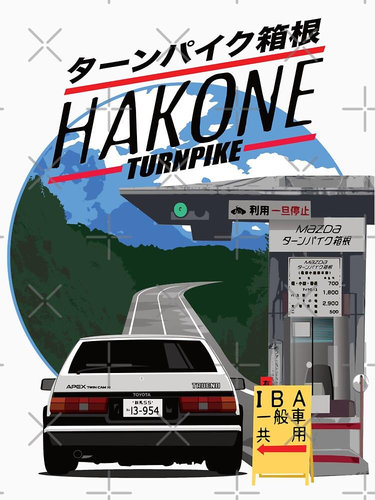 Hakone Toyota AE86 Trueno de 8800ag